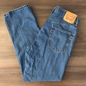 Levi's 550 Red Tag Straight Leg Jeans